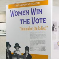 An Evening with the Curator: Women Win the Vote